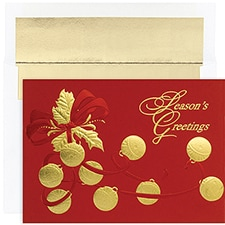 Jingle Bells Century Boxed Holiday Card