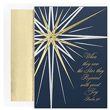 Bright Star Century Boxed Holiday Card