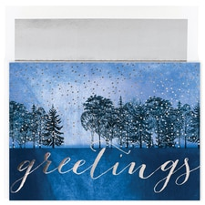Midnight Treeline Century Boxed Holiday Card