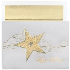 Stars & Swirls Century Boxed Holiday Card