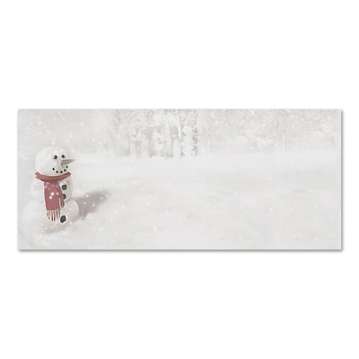 Snowman In Red Scarf Great Papers Envelope
