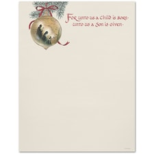 Holy Family Great Papers Letterhead
