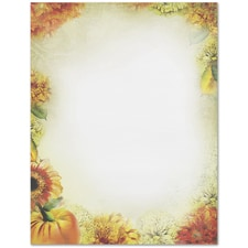 Autumn Foliage Great Papers Letterhead