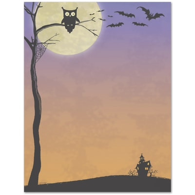 Halloween Who Great Papers Letterhead