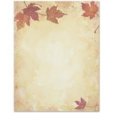 Fall Leaves Great Papers Letterhead