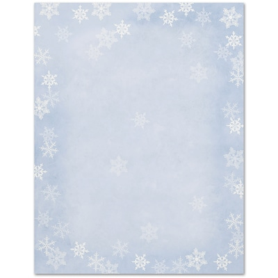 Winter Flakes Great Papers Letterhead