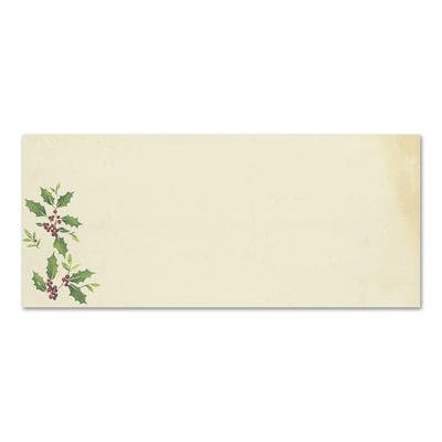 Falling Holly Great Papers Envelope