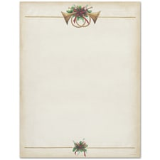 Antique Horns Great Papers Letterhead