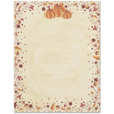 Painted Pumpkin Great Papers Letterhead