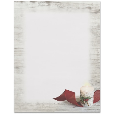 Birch Candle Great Papers Letterhead