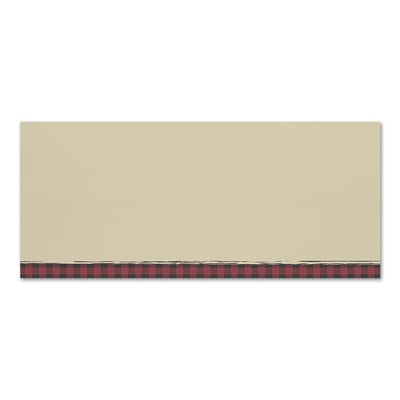 Buffalo Plaid Great Papers Envelope