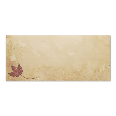 Fall Leaves Great Papers Envelope