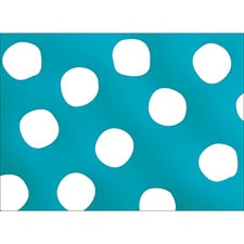 BIG DOTS NOTE CARD - BLUE
