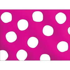 BIG DOTS NOTE CARD - PINK