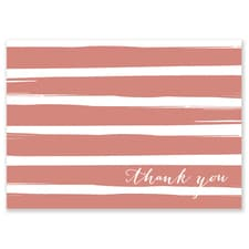 BRUSH STRIPES TY ROSE GOLD