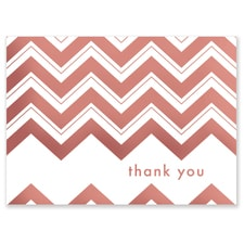 CHEVRON TY ROSE GOLD