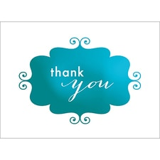 BANNER THANK YOU NOTE - BLUE