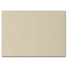 Gold Shimmer Flat Response Card 3 1/2 x 4 7/8