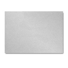 Silver Shimmer Flat Response Card 3 1/2 x 4 7/8