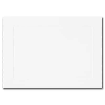 Hi White A1 Flat Panel Card 3 1/2 x 4 7/8