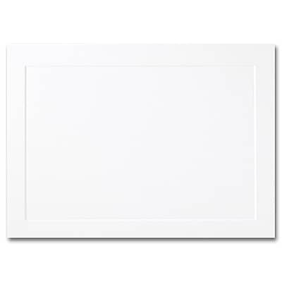 Hi White A2 Foldover Panel Card 4 1/4 x 5 1/2