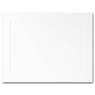 Hi White A2 Flat Panel Card 4 1/4 x 5 1/2