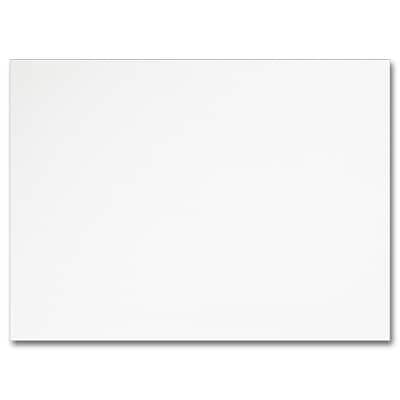 Hi White A6 Flat Card 4 5/8 x 6 1/4