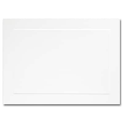 Hi White A6 Flat Panel Card 4 5/8 x 6 1/4
