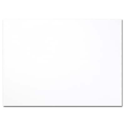 Hi White A7 Foldover Card 5 1/8 x 7
