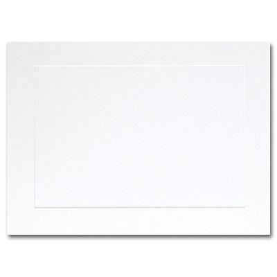 Hi White A7 Flat Panel Card 5 1/8 x 7