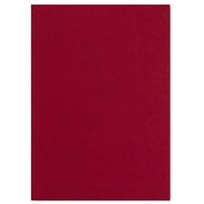 Claret Flat Jumbo Invitation 5 1/8 X 7 1/4
