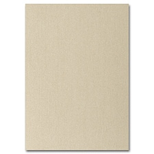 Gold Shimmer Jumbo Flat Invitation 5 1/8 x 7 1/4