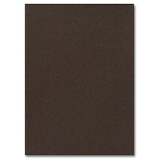 Mocha Shimmer Jumbo Flat Invitation  5 1/8 x 7 1/4
