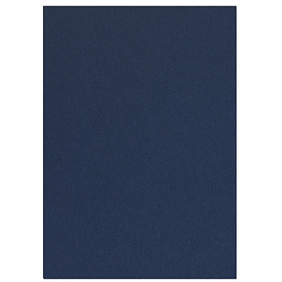 Navy Jumbo Flat Invitation 5 1/8 X 7 1/4