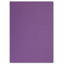 Purple Shimmer Jumbo Flat Invitation 5 1/8 X 7 1/4