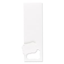 Hi White Medium Crest Tags 2 x 2 3/4