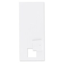 Hi White Medium Square Tags 1 1/2 x 1 1/2