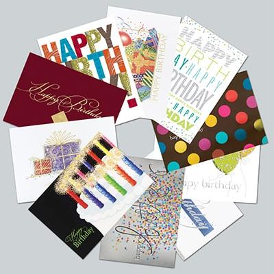 Birthday Assortment - 5 each of 10