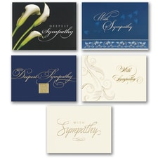 SYMPATHY ASSORTMENT - 5 each of 5