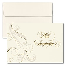 WITH SYMPATHY DAMASK