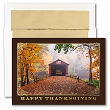 COVERED BRIDGE THANKSGIVING
