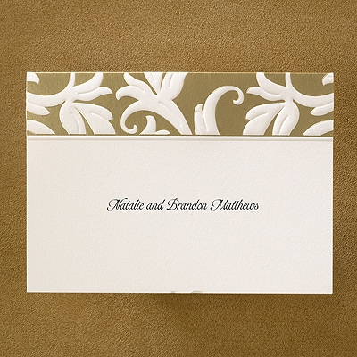 A Lifetime of Riches - Note Card and Envelope