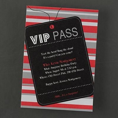 VIP Pass - Invitation
