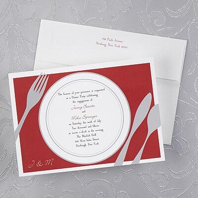 Dinner Setting - Invitation