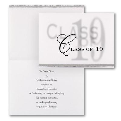 Sheer Class - Announcement - Silver Deckle