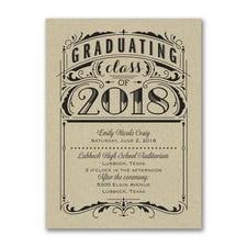 Poster Grad - Invitation - Kraft