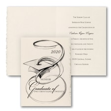 Artistic Grad - Announcement - Parchment Deckle