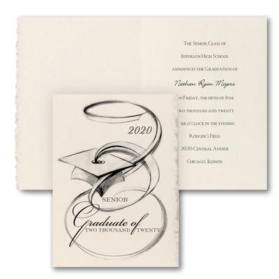 Artistic Grad - Announcement - Parchment Deckle