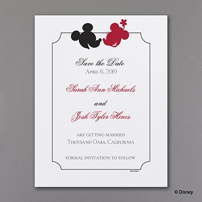 Mickey's Love - Save the Date