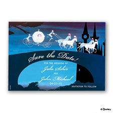 Magical Night Save the Date Magnet